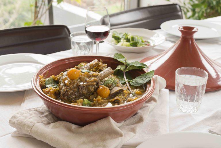 Zacht kruidige Marokkaanse stoofschotel