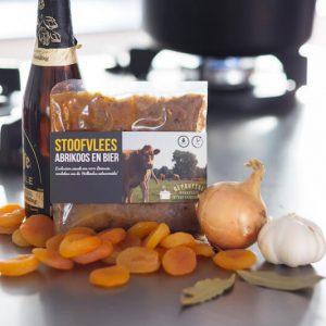 Stoofvlees abrikoos en bier keuken