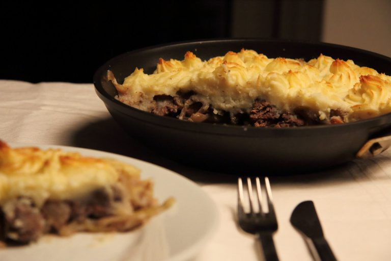 Shepherd's Pie met klassiek stoofvlees