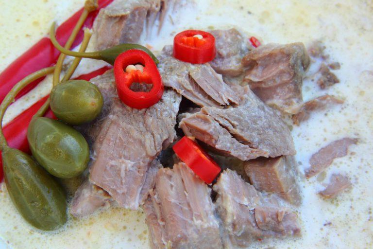 Romig pepertje stoofvlees